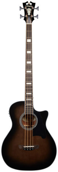 DAngelico Premier Mott Acoustic Bass GBK