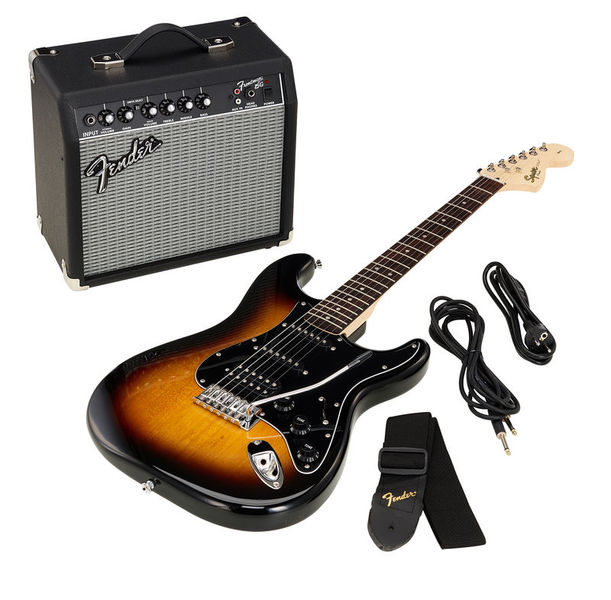 SQ Affinity Strat Pack HSS BSB Fender