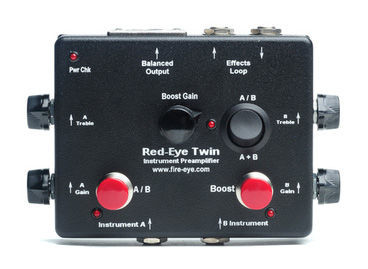 Fire-Eye Red-Eye Twin Instr. Preamp