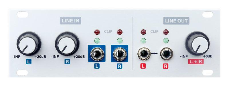 Audio I/O 1U Intellijel Designs