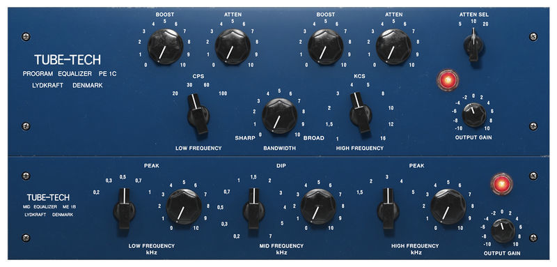 Softube Tube-Tech EQ Collection