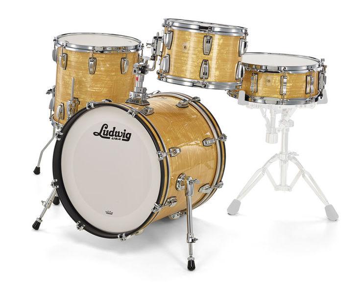 Ludwig Classic Maple Jazzette A. Onyx