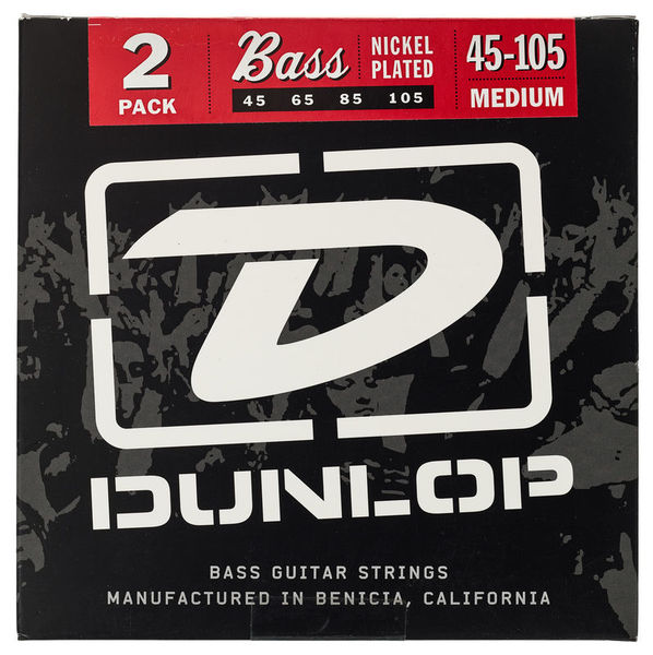 Dunlop Bass Strings 45-105 2 Set Pack