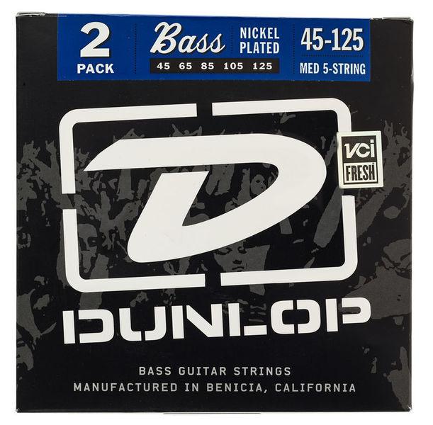 Dunlop Bass Strings 45-125 2 Set Pack