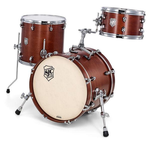 SJC Drums Custom 3-piece Bop Set Walnut