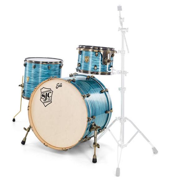 SJC Drums Custom Rock Set Turquoise