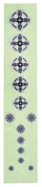 Jockomo Fret Mark-Celtic Cross