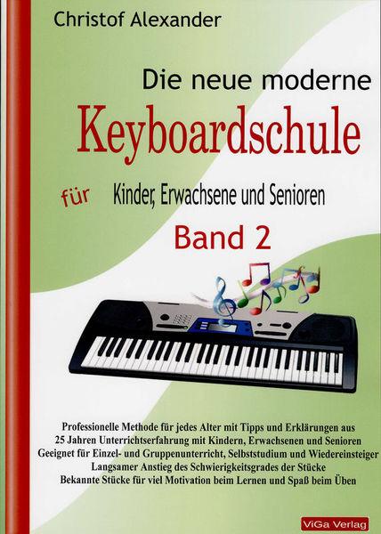 ViGa Verlag Neue moderne Keyboardschule 2