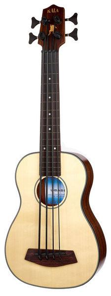 Kala U-Bass Solid Spruce Fretless