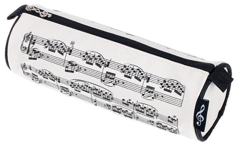 A-Gift-Republic Pencil Case Sheet Music Creme