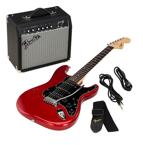 Fender SQ Affin Strat Pack HSS CAR 18