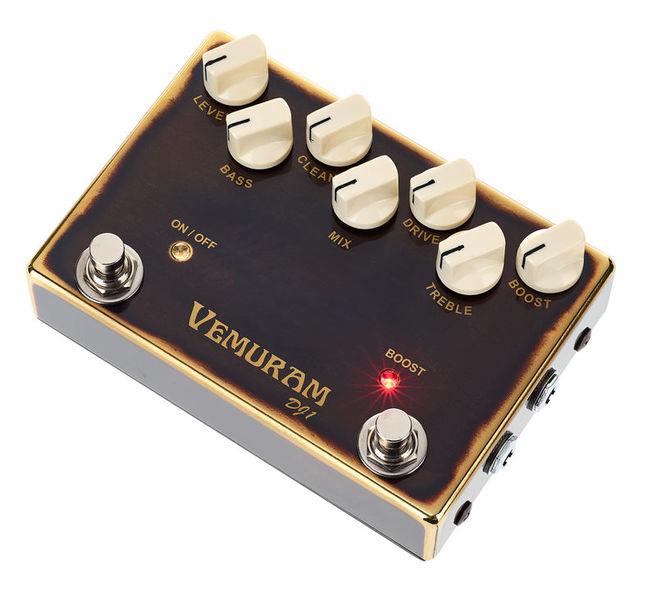 Vemuram DJ1 Bass Overdrive/Dist