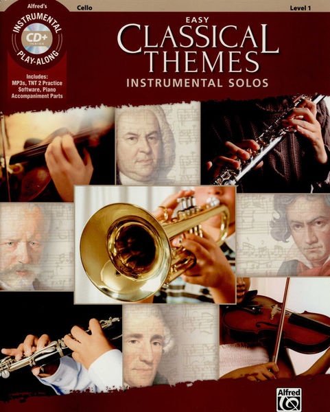 Alfred Music Publishing Easy Classical Themes Cello