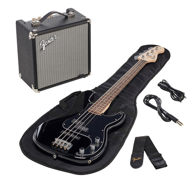 Fender SQ Affinity PJ Bass Pack BLK
