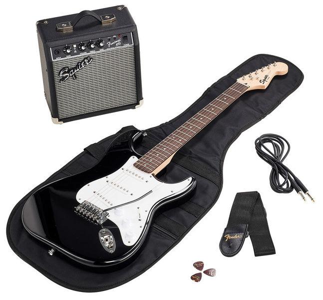 Fender SQ Strat Pack SSS BLK GB