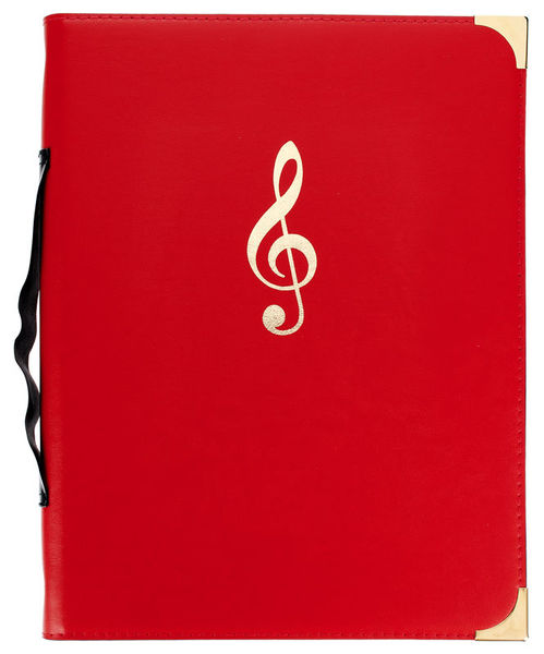 Rolf Handschuch Music Folder Classic Red HS