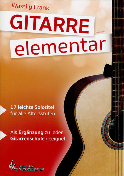 Purzelbaum Verlag Gitarre elementar