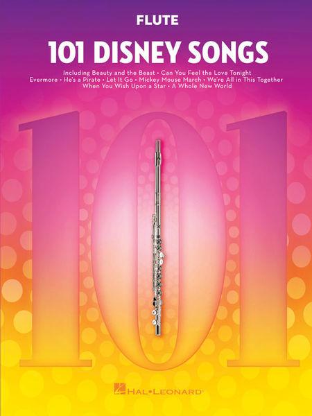 101 Disney Songs Flute Hal Leonard