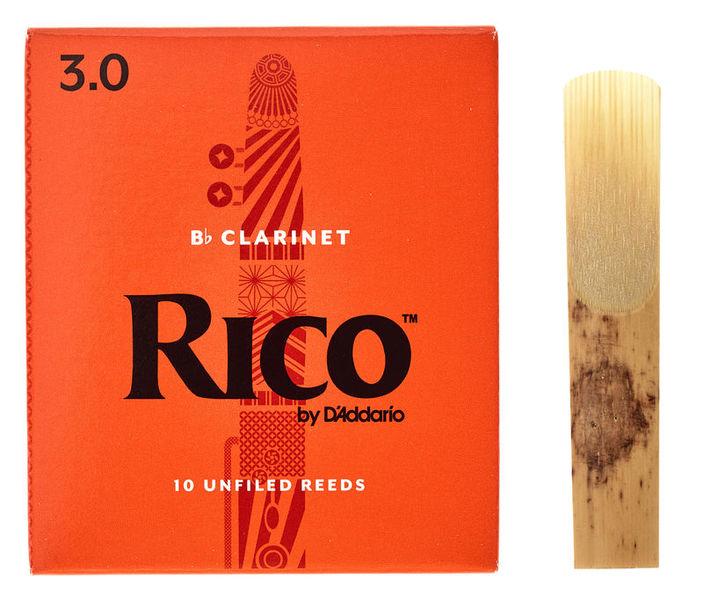 DAddario Woodwinds Rico Bb- Clarinet 3 Boehm