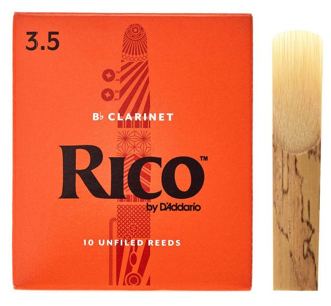 DAddario Woodwinds Rico Bb- Clarinet 3,5 Boehm