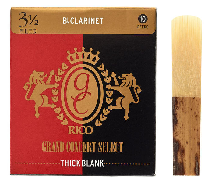 DAddario Woodwinds Grand Concert Thick Blank 3,5