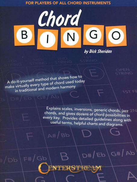 Centerstream Chord Bingo