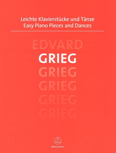 Bärenreiter Grieg Easy Piano Pieces