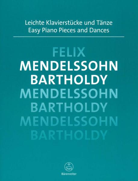 Bärenreiter Mendelssohn Easy Piano Pieces