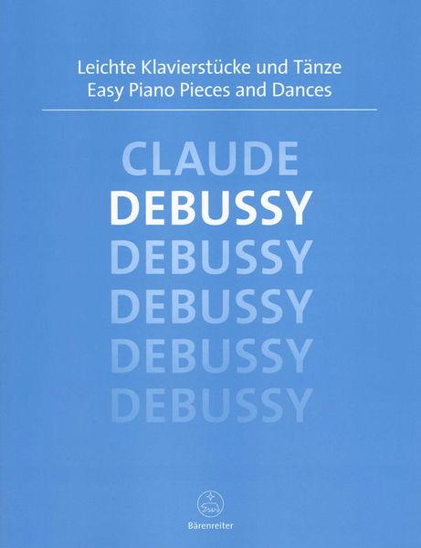Bärenreiter Debussy Easy Piano Pieces