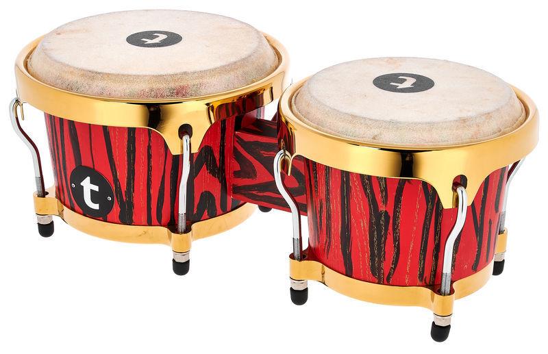 Thomann Red Delusion Bongo Set