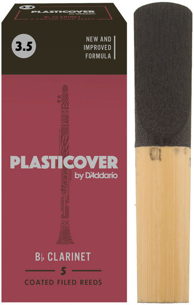 DAddario Woodwinds Plasticover Bb- Clarinet 3,5