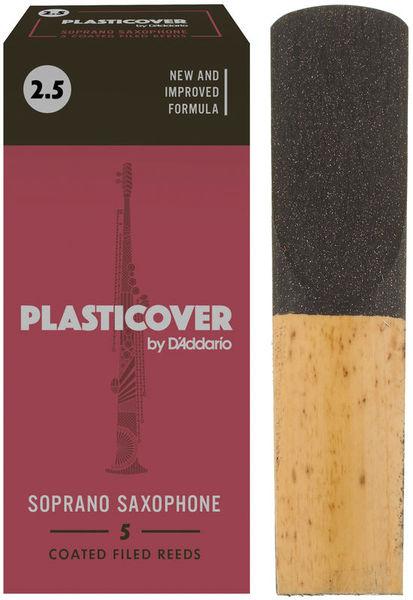 DAddario Woodwinds Plasticover Soprano Sax 2,5