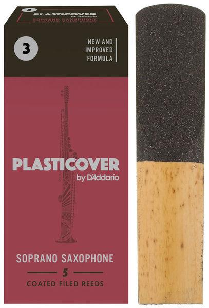 DAddario Woodwinds Plasticover Soprano Sax 3