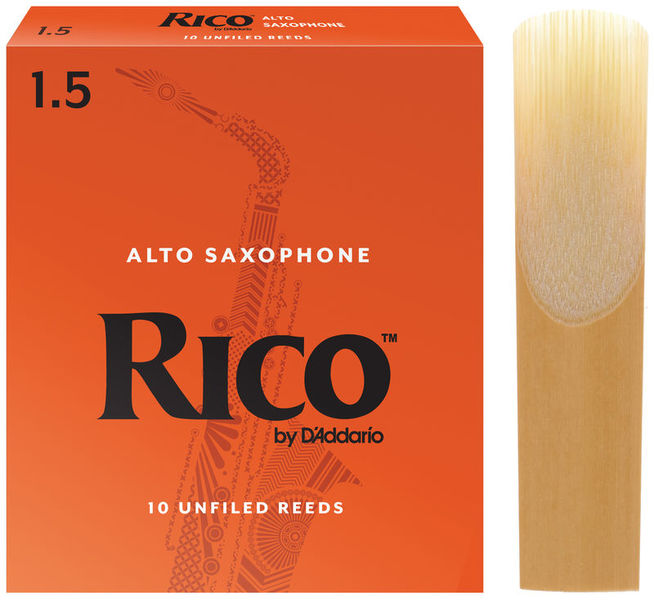 Rico Alto Sax 1,5 Daddario Woodwinds