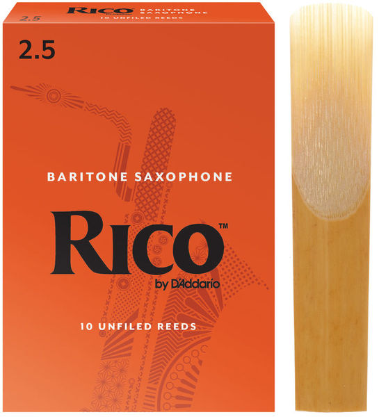 DAddario Woodwinds Rico Baritone Sax 2,5