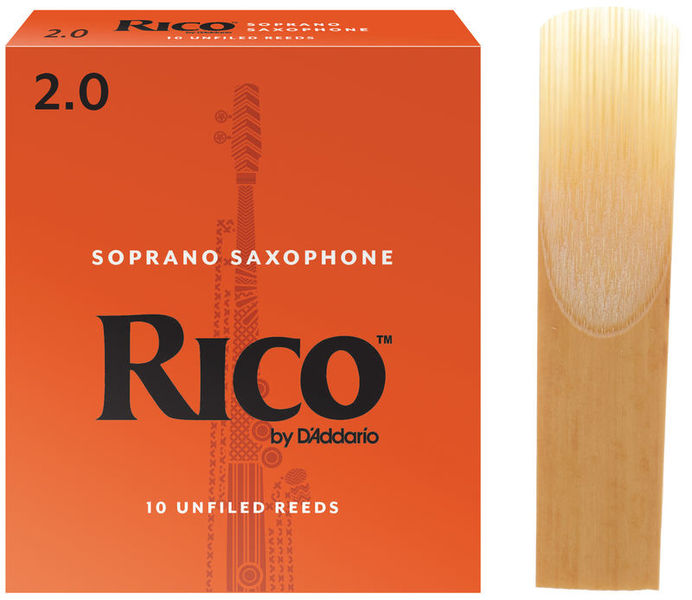 DAddario Woodwinds Rico Soprano Sax 2