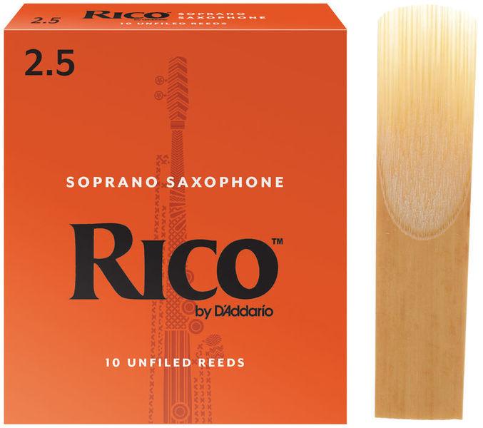 DAddario Woodwinds Rico Soprano Sax 2,5