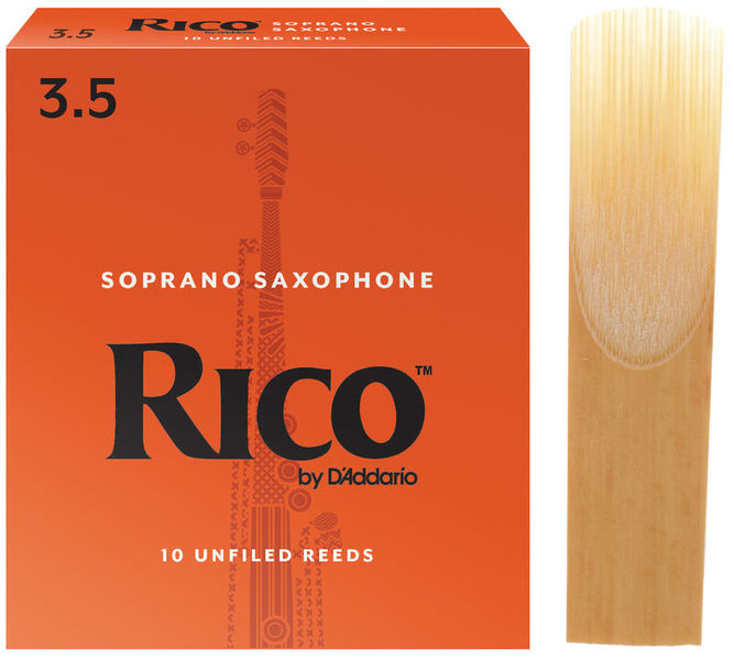 DAddario Woodwinds Rico Soprano Sax 3,5