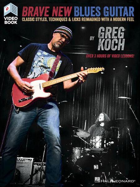 Hal Leonard Brave New Blues Guitar