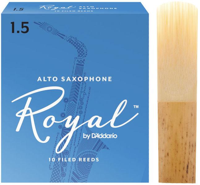 DAddario Woodwinds Royal Alto Sax 1,5