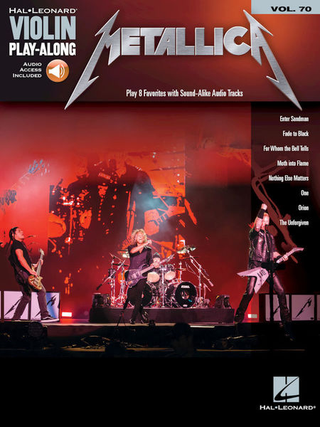 Hal Leonard Violin Play-Along Metallica