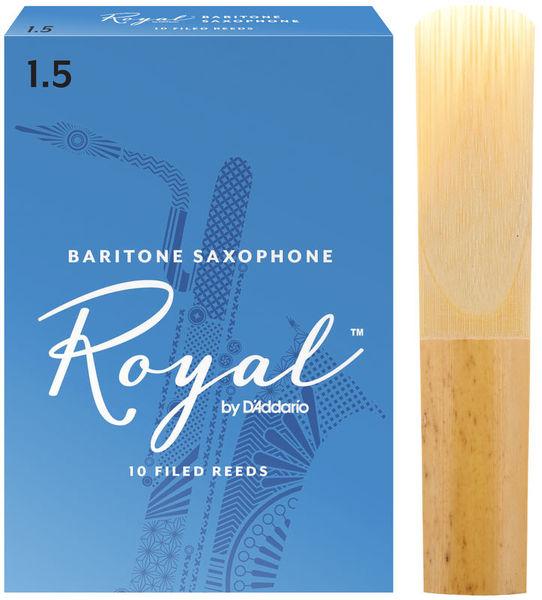 DAddario Woodwinds Royal Baritone Sax 1,5