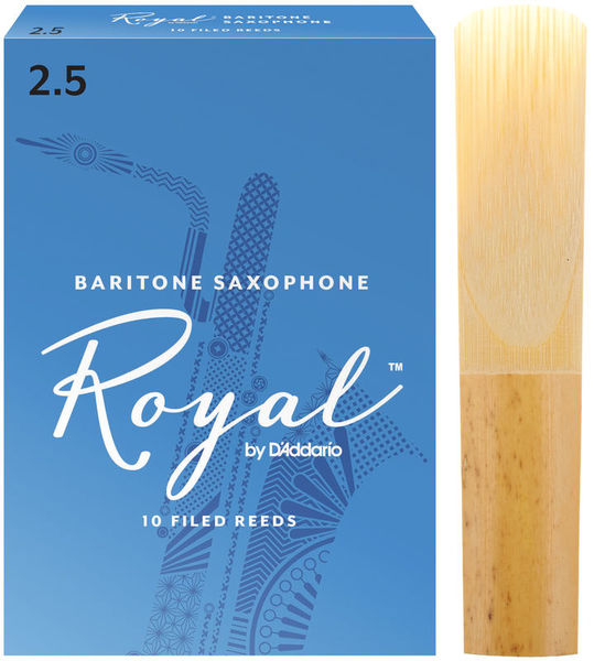 DAddario Woodwinds Royal Baritone Sax 2,5