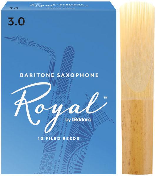 Royal Baritone Sax 3 DAddario Woodwinds