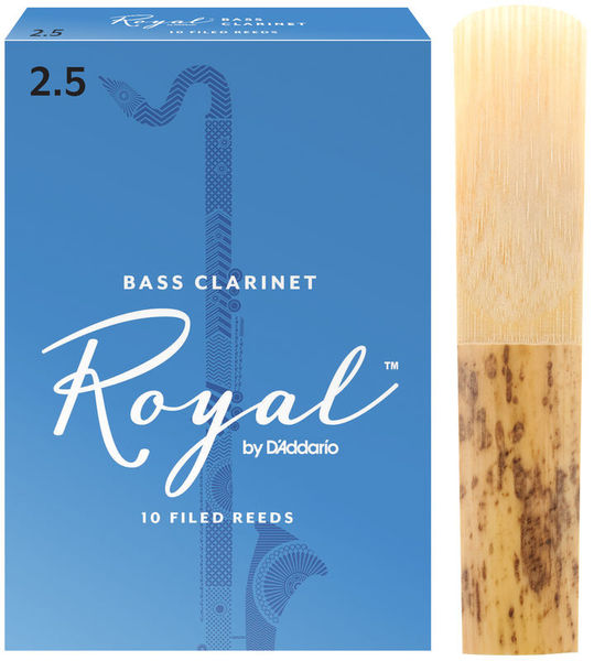 DAddario Woodwinds Royal Boehm Bass Clarinet 2,5
