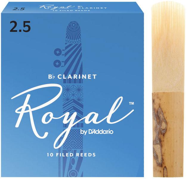 DAddario Woodwinds Royal Boehm Bb- Clarinet 2,5