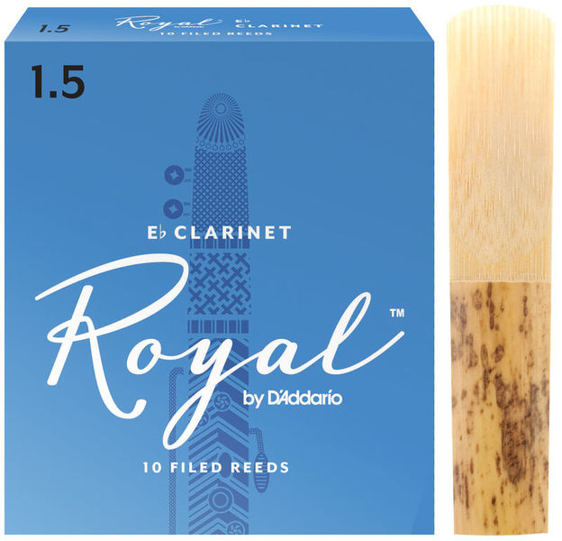 Royal Boehm Eb-Clarinet 1,5 DAddario Woodwinds