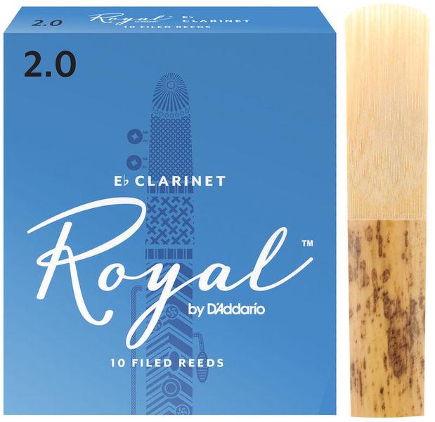 Royal Boehm Eb-Clarinet 2 DAddario Woodwinds