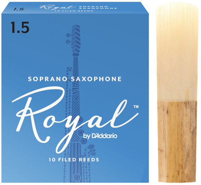 Royal Soprano Sax 1,5 DAddario Woodwinds