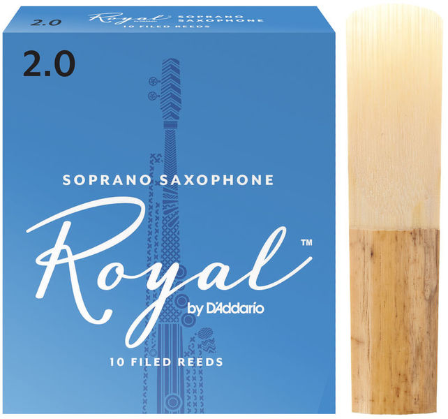 DAddario Woodwinds Royal Soprano Sax 2